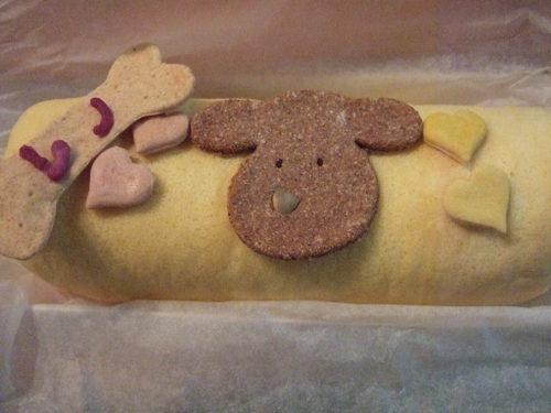 3才のバースディケーキ
